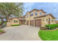Beautiful Sendero Custom Home featuring a Tuscan style