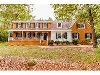 Beautiful CUSTOM Brick home on 3.3 acres in historic