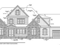 New Construction Home by local CUSTOM BUILDER known for