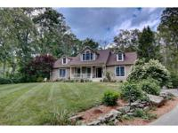 Beautifully maintained oversized Cape-style home