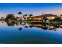 Gulf access home with 161 feet of seawall and 1, 400
