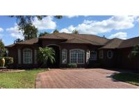 Wonderful DeBary Golf & Country Club pool home situated