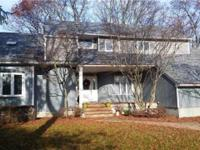 Huge Colonial In Prime Location At End Of Cul-De-Sac
