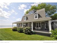 Direct waterfront on beautiful Laurel Beach! This home