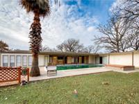 Beautiful ranch style home on a double lot! Close walk