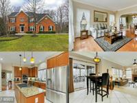 Gorgeous brick front colonial on 1 ac. lot backing to