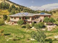 Remarkable energy efficient custom home in peaceful