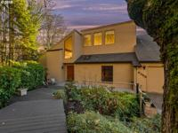 Custom Northwest Contemporary with territorial and