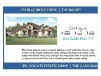 This Rainey design features a gorgeous exterior that is
