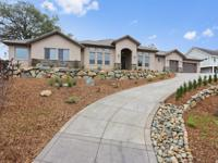 Stunning new single level home w/desirable floor plan