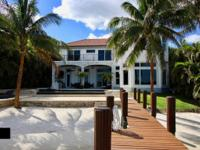 Spectacular Intracoastal 4br/4.5ba Contemporary Home Is