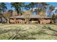 All brick, well-maintained one-story home with a
