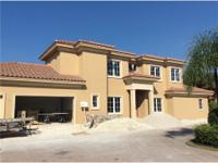 Construction is nearing completion for this Custom Home