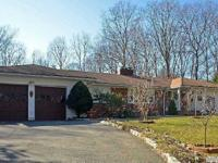 Dix Hills Sprawling Farm Ranch, Features 4 Bedrooms, 4