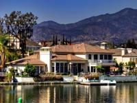 Magnificent lakefront custom estate situated on one of