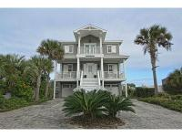 Southern living style direct ocean front home with