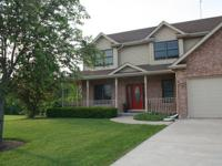 Custom built home on 1 acre of land. Large kitchen with