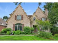Gorgeous all brick traditional home on a great in town