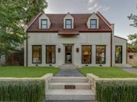 One of the most recognized homes in the Park Cities -