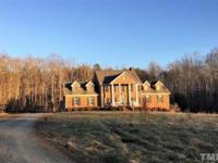 A private setting for this large home with lots of