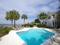 Renovated Marshfront and Riverfront Sea Island home and