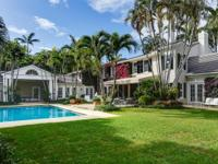 Sited On One Of The Prettiest Streets In Palm Beach,