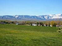 Custom ranch style home located South of Sheridan WY on