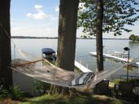 WAWASEE LAKEFRONT, gorgeous serene sunsets &