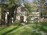 This historically registered landmark limestone home