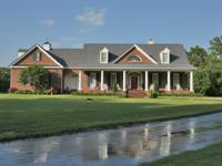 Stunning Custom Country Brick House on over 15 acres of