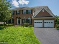 Rarely Available. 4BR/2.5BA Brick Front Colonial.