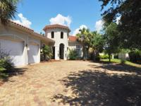 Beautiful Mediterranean home custom built to withstand