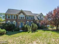 Nature lovers DREAM! Stately brick front colonial in