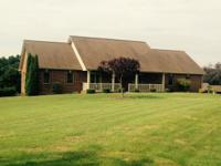 Fantastic farm and brick home in the Nancy community.
