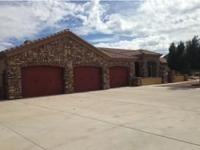 Custom property- Cement driveways- Mtn Views- Roping