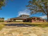 Unique Frank Lloyd Wright architectural design with a