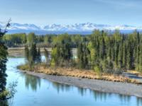 NEARLY 10 ACRES- PRIVATE KENAI RIVERFRONT ESTATE! This