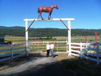 Bring the horses! Mountain House Stables is a premier