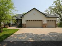 Exceptional quality built home on premier Lake Ida. As