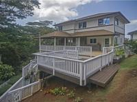 This immaculate, well-designed home at the top of Aiea