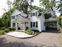 Renovated & Expanded Sun Drenched Colonial In Old