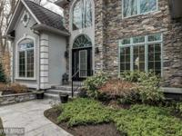 Must see this Frank Betz design with dramatic foyer and
