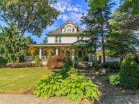 Historic Queen Anne Victorian with two story Carriage