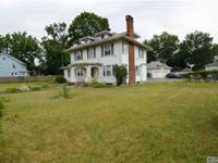 Large 4 Bedroom, 2 Full Bath Colonial. Home Has A Huge