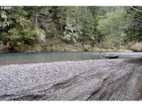 Located on the pristine Elk River, this 5.76+- acre