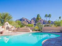 STUNNING Camelback and Mummy Mountain views make an