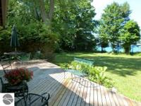 Exceptional property with 660 feet of low bluff water