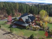 Magnificent Country Estate with gorgeous 6,500 SF log