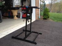 4 bike compact bike rack. Excellent condition. Call