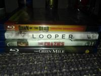 I have Dawn of the Dead, Looper, The Crazies & The